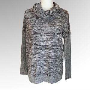 Xersion Loose Fit Cowl Neck Top